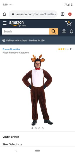 Reindeer Costume for Sale in Medina, OH