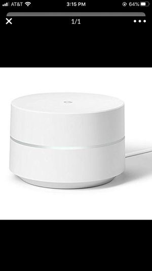 Google wifi router extender for Sale in Charlotte, NC
