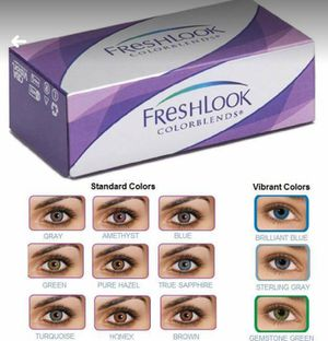 Cosmetic Colored Contacts... for Sale in Hilo, HI