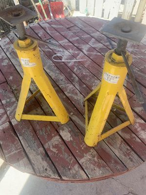 Trailer/ camper jack stands for Sale in Highland, CA