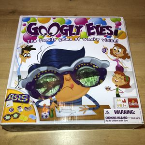 Googly Eyes Game (All Pieces Included) for Sale in Burrillville, RI