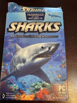 Sharks screensaver for Sale in Tinley Park,  IL