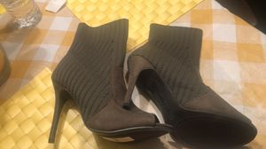 Olive green heels for Sale in Raleigh, NC