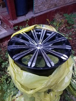 """20"""" rims, had for a couple years . for Sale in Leavenworth, WA"""