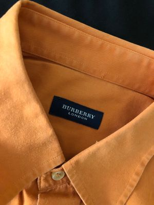 Burberry long sleeve button down shirt for Sale in Cape Coral, FL