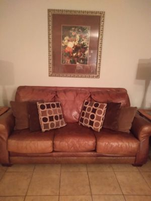 Couch , two end tables and dinning room table for Sale in Azalea Park, FL