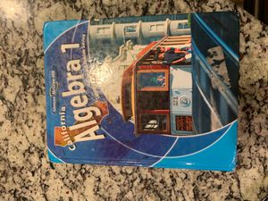 Very Good condition- Álgebra 1 text-homeschool for Sale in Lake Forest, CA
