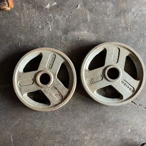 Olympic Bar Weights 2 25 Pounds for Sale in Torrance, CA