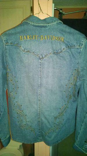 Women's Harley Davidson Jean Shirt (M) for Sale in Scottsdale, AZ