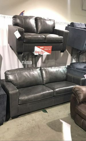 Special for Black Friday ‼ SALES Morelos Gray Living Room Set 300 for Sale in Jessup, MD
