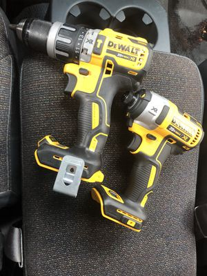 2 dewalt drills tools only for Sale in Tacoma, WA