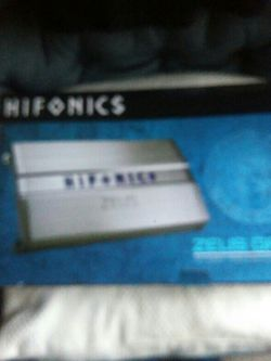 Hifonic 1200x4 Channel for Sale in San Leandro,  CA
