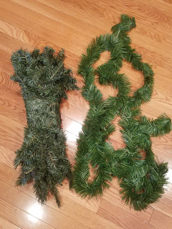 9ft Pine garland + bonus garland