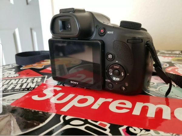 Sony Cyber-shot DSC-HX400V 20.4 MP Digital Camera - Black