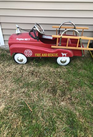 Fire and rescue Toy wagon Collectible item for Sale in Carlstadt, NJ