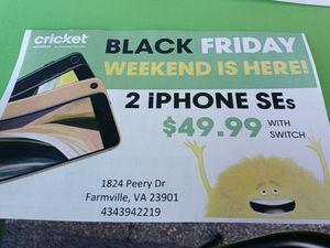 Cricket Wireless Farmville 2 iPhones $49.99 for Sale in Farmville, VA