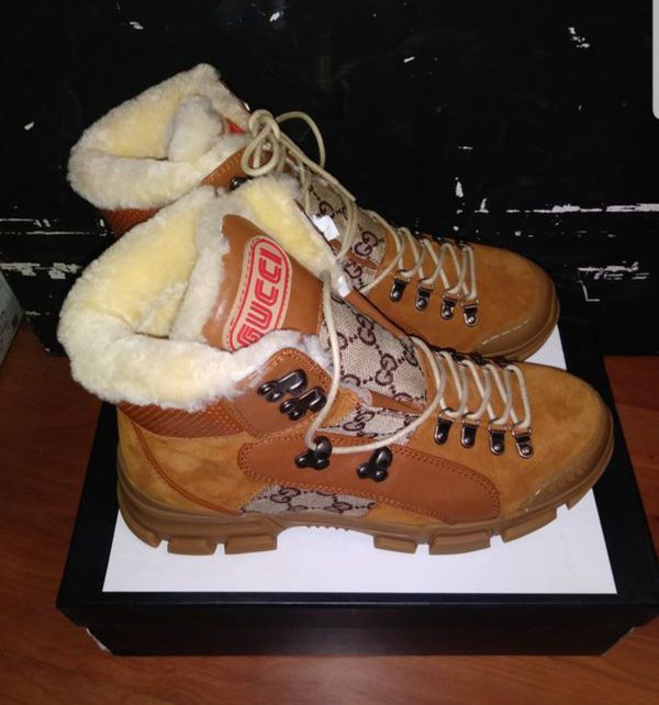 New Gucci boots