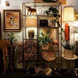 Vintage Mid Century Modern Bohemian Brass Etagere for Sale in Mesa, AZ