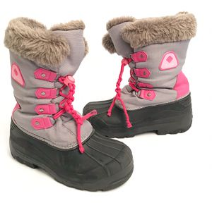 DREAM PAIRS Boots Girls Winter Snow Boots Sz 3 Waterproof Thinsulate for Sale in Vista, CA