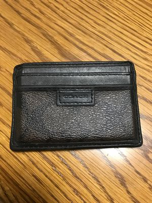 Coach Wallet Card Holder Men's or Woman for Sale in Haines City, FL