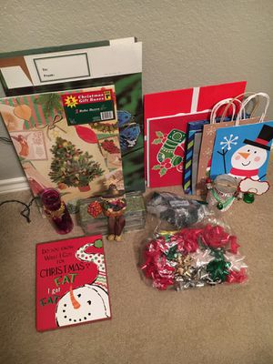 Bunch of Christmas items for $10-see photos for Sale in Arlington, TX