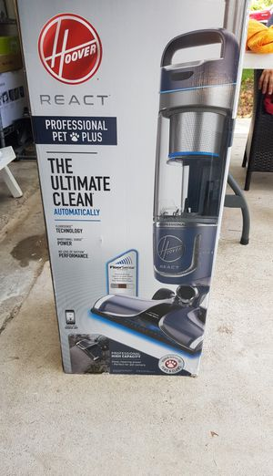 Vacuum hoover the ultimate clean!! REACT! NEW for Sale in Houston, TX