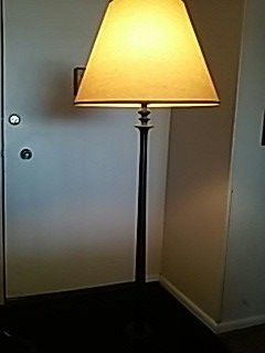 Solid steel lamp pole for Sale in Columbus, OH