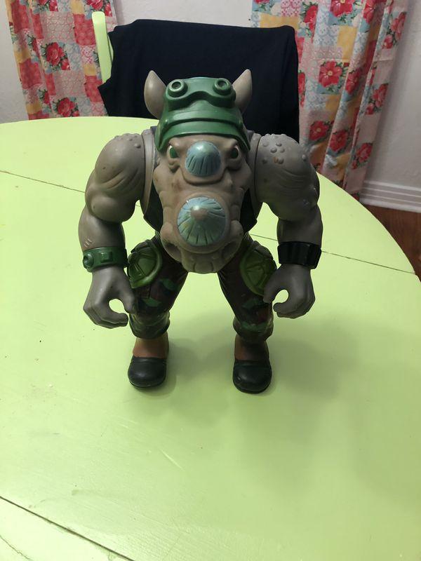 1990 Teenage Mutant Ninja Turtles Rocksteady