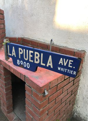 Double sided street sign, retired for Sale in Whittier, CA