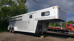 All aluminium slant gooseneck trailer for Sale in Wauconda, IL