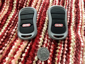 Genie Keyfob Garage Door Openers (x2) - Model G3T-A for Sale in Woodland Hills, CA