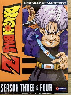 DragonBall Z: Season Three/Season Four (DVD) for Sale in Covington,  GA