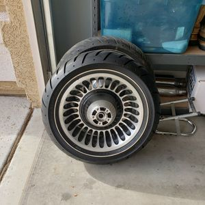 Harley FLH OEM Wheels And Tires for Sale in Phoenix, AZ