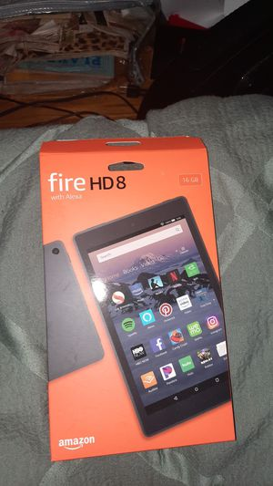 Fire hd 8 Amazon tablet for Sale in Willoughby, OH