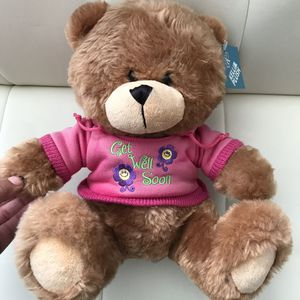 "The Petting Zoo Teddy Plush ""Get well Soon"" 12"" for Sale in Las Vegas, NV"