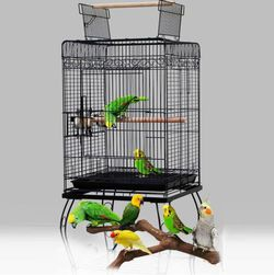 Small Parrot Play Cockatiel House Metal Cage for Sale in Temple City,  CA