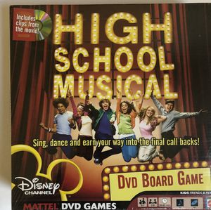 NEW High School Musical DVD Board Game for Sale in Roselle, IL