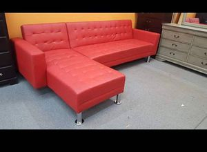 Brand New Red Futon Sectional for Sale in Austin, TX