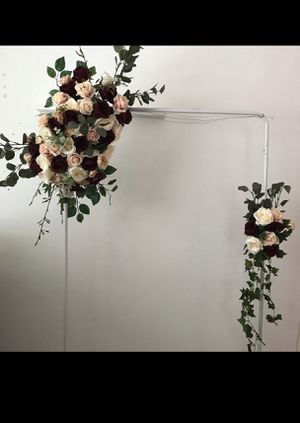Artificial wedding arch flowers for Sale in Chesapeake, VA