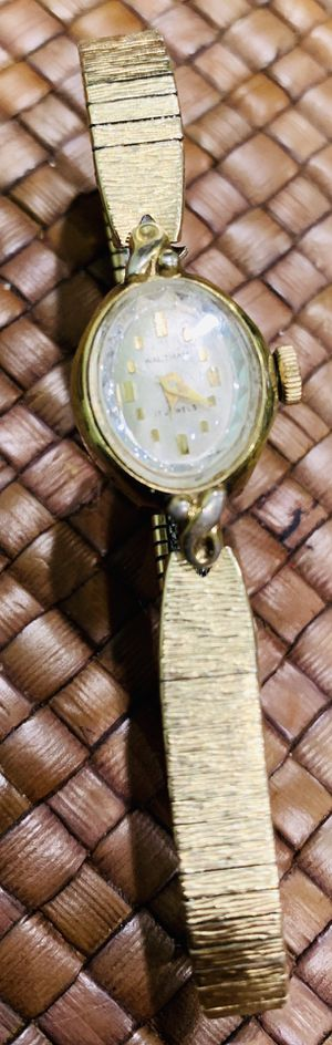 Vintage Waltham 10 k gold watch, beautiful for Sale in Silver Spring, MD