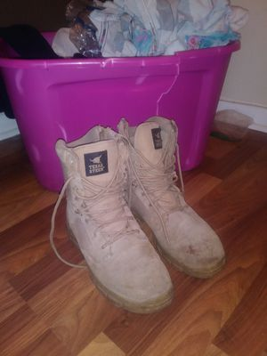 Texas steer steel toe boots for Sale in Lake Park, FL