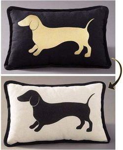 Dog Cat Design Pillows Couch Cushion Pet Lovers Reversible for Sale in Santa Fe,  NM