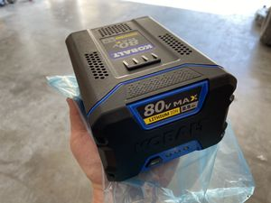 Kobalt 80v 2.5Ah Battery and Charger for Sale in Midlothian, TX