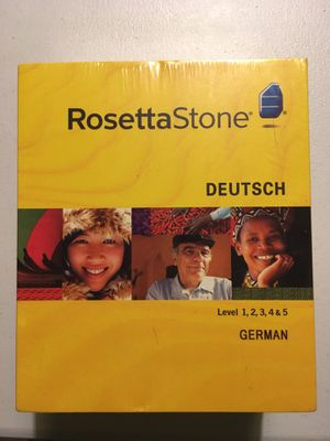 Rosetta Stone | All 5 levels of German ) | $80 for Sale in Elk Grove Village, IL