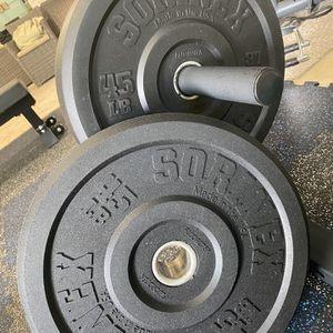 Sorinex 45lb Bumper Plates for Sale in New Port Richey, FL