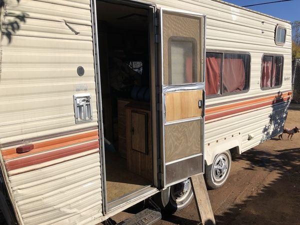 1980 komfort trailer 19 ft