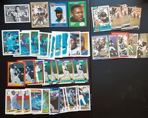 1987 BO JACKSON LOS ANGELES RAIDERS FOOTBALL BASEBALL CARD LOT OF 43 Cards PSA,BGS,BECKETT? for Sale in Carmichael, CA