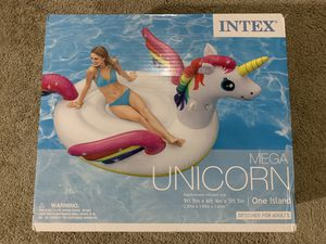 Brand New Intex Mega Unicorn Island Float for Sale in Norcross, GA
