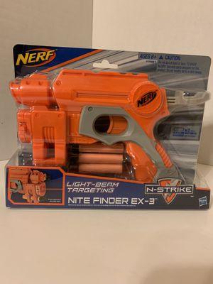 Nerf night finder EX-3 laser gun for Sale in Albuquerque, NM