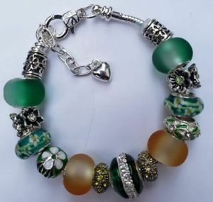Green and yellow charm bracelet 1for $15 or 2 for $25 for Sale in Baltimore, MD